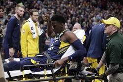 NBA》眾星祈禱!歐拉迪波膝傷被擔架抬出場