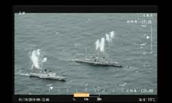 海軍春節加強戰備 無人機展即時畫面