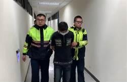 酒駕撞警逃逸 追逐750公尺被逮送辦