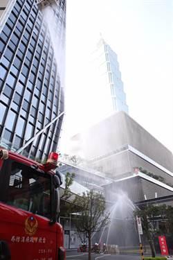 春節將至 北市消防局南山廣場強化公安演練