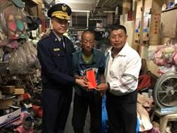 台南警送慰問金給獨老 呼籲民眾關懷弱勢