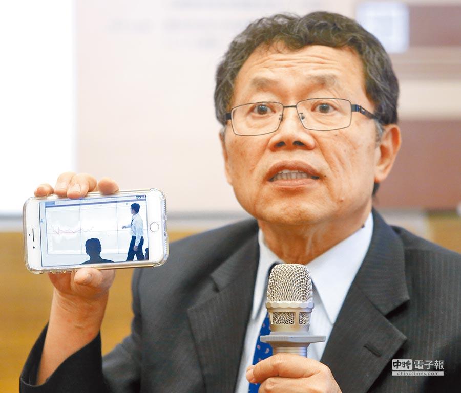 被蔡英文總統暱稱「阿信」的台水董事長郭俊銘(本報資料照片)