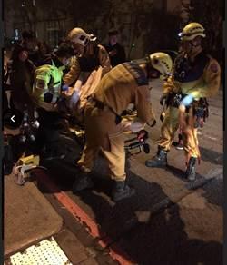 KTV嗨歌唱到墜樓 澳洲男救女子 雙雙卡雨棚