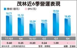 茂林在台大投資 毛利率看升