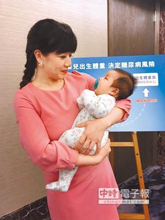 嬰兒過重過輕 糖尿病風險高2.5倍