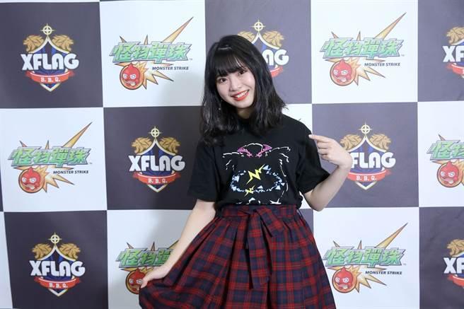 馬嘉伶驚喜現身台北國際電玩展。
