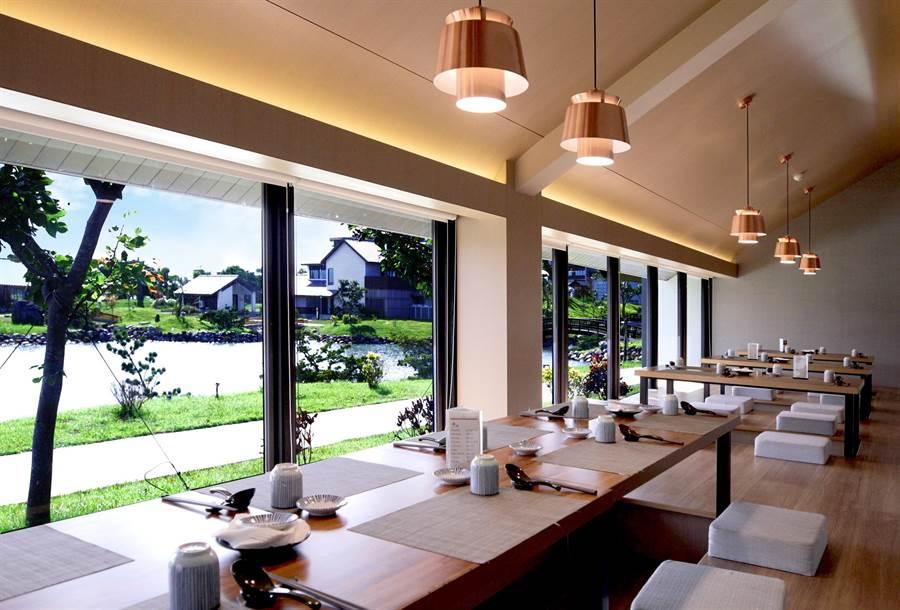 舞饌日料餐廳環境。圖:綠舞提供
