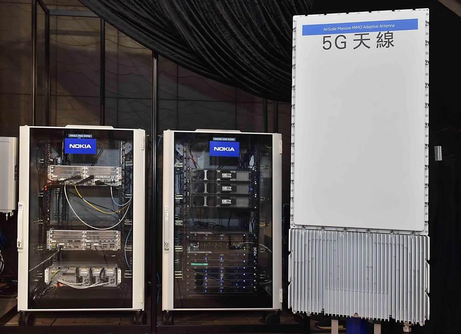 台灣大哥大「真5G」實機記者會,5G實體天線與核心設備國內首次亮相。(圖/台灣大哥大提供)