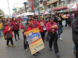 新化年貨大街消防演練宣導防災