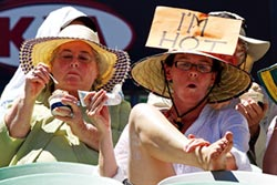 澳洲熱浪來襲 墨爾本鬧電荒