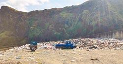 綠島垃圾爆滿 不清運恐海漂