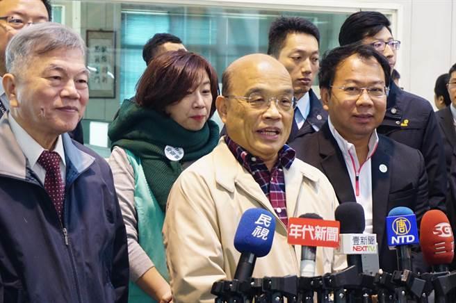 行政院長蘇貞昌日前保證「政府會負勞保最終支付責任」。(資料照/王文吉攝)