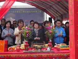 太平二期社住動土 盧秀燕向中央喊話「建築費補助一半」