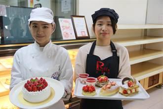 弘光「紅師父」推草莓季  夢幻滋味讓甜點控臣服