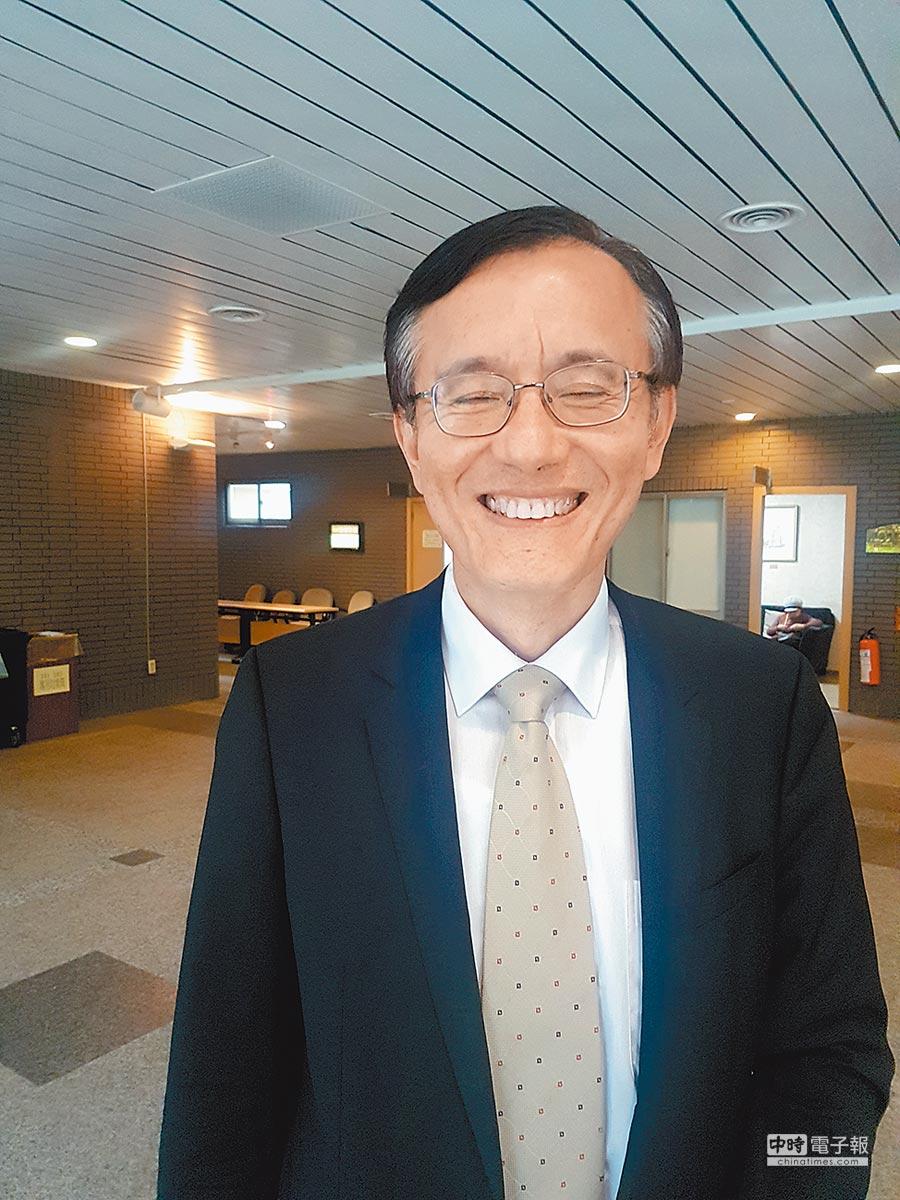 資策會資深總監陳子昂。(記者許昌平攝)