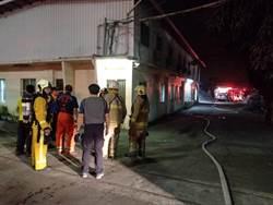 高雄東隆紙廠3個月內二度起火 幸無人受傷