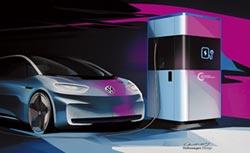 Volkswagen首演 移動式快速概念充電
