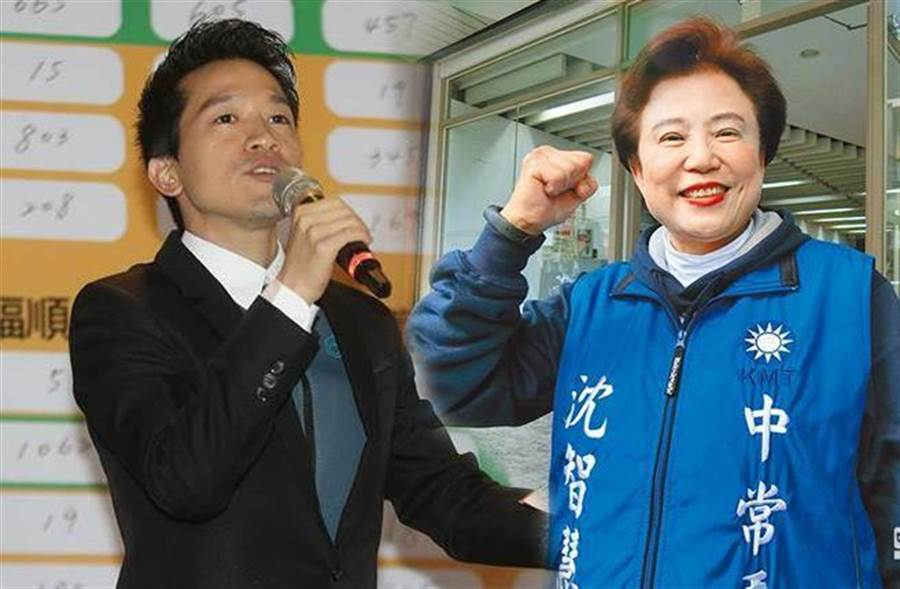 台北市、台中市立委補選,分別由何志偉(左)、沈智慧(右)當選。(圖/資料照片合成)