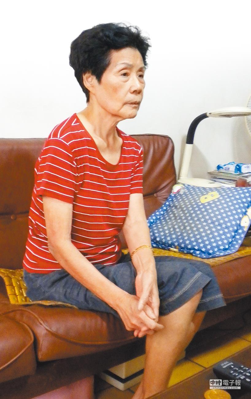 楊銘中的母親陳宜善曾寫信給中國國家主席胡錦濤,要求釋放楊銘中,最後仍未成功,楊母抱憾離世。(本報資料照片)