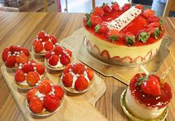 恆春季節限定草莓糕點  多層次口感讓人驚豔