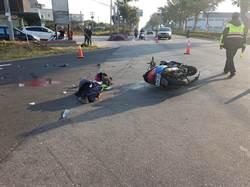 影》金門機車與轎車相撞 金大進修部學生打工途中遇死劫