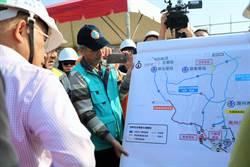 蘇貞昌視察台灣燈會 強調:公投的錯誤不可再犯
