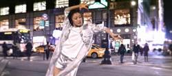 國際華裔美女舞蹈家 為台灣品牌紐約街頭熱舞