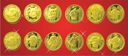 全球限量發行3,000套 圓明園十二生肖獸首紀念幣 震撼發行
