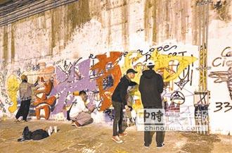 南華高中發起 100小時不間斷涵洞塗鴉
