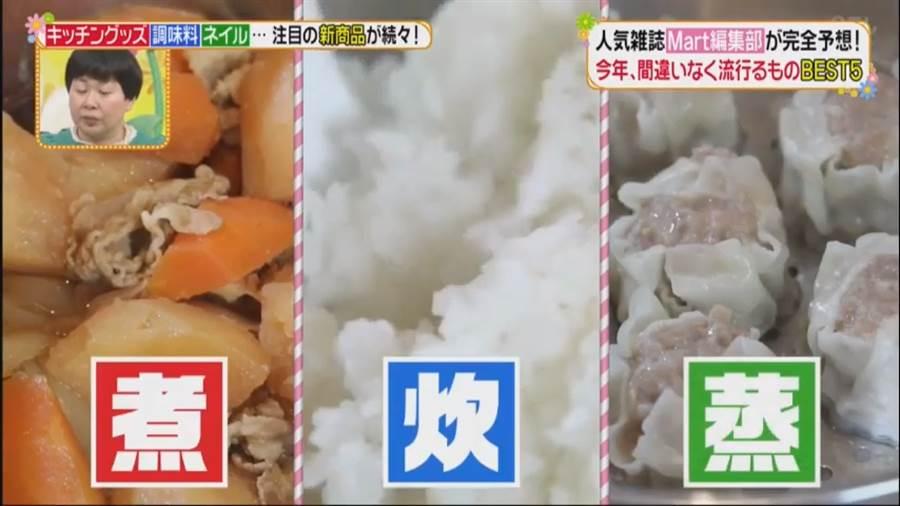 日本節目根據雜誌內容,表示大同電鍋可蒸煮炊,可說是相當便利(圖翻攝自/youtube/已經是午間了)