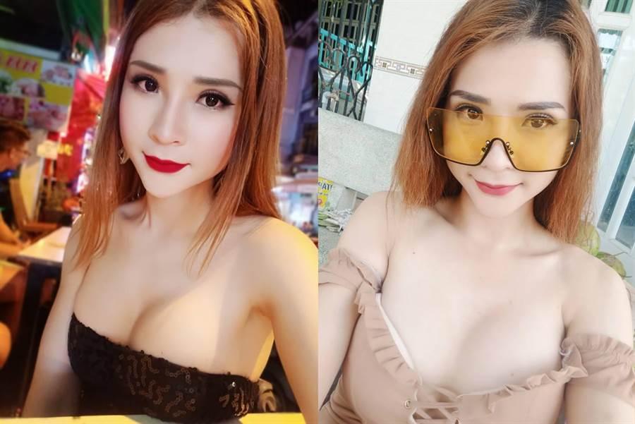 交到極品女友眾人羨慕 1個月後他翻出舊照驚呆(圖翻攝自臉書/Trần Thoại Vy)