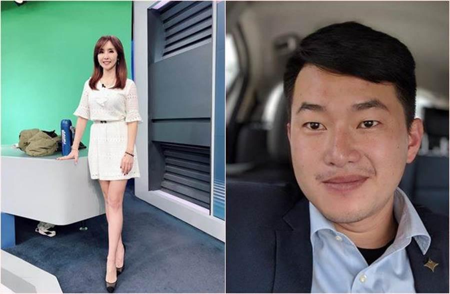 《54新觀點》改由女主播黃倩萍與基進黨發言人「3Q哥」陳柏惟主持。(圖/翻攝自臉書)