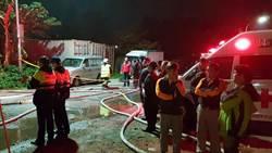影》台北社子家具行暗夜惡火 延燒工廠無人傷亡