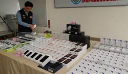警查獲大陸A貨iPhone在台據點 以假亂真騙台灣