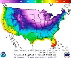 極地渦旋侵美 芝加哥比南極還冷
