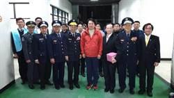 基隆加強重要節日安全維護工作    林右昌慰勉員警
