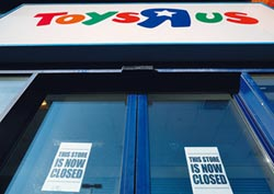 反斗城倒閉 害美玩具銷售跌2% 去年僅216億美元