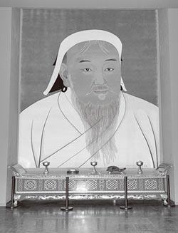 兩岸史話-成吉思汗形象成了無價之寶