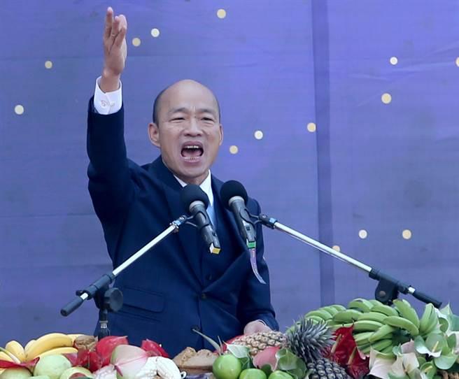 高雄市長韓國瑜,4、5月間將訪美演說。(圖/本報資料照)