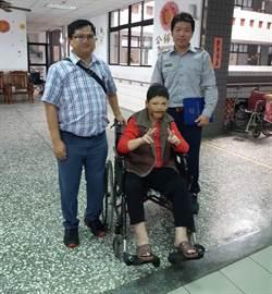 失蹤20年被宣告死亡 台南警助婦人返家吃團圓飯