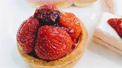 愛心麵包店用料實在 草莓塔飄香