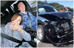 影》國道追撞車全毀 吳鈴山籲:別太相信自動駕駛