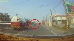 影》意外?找死?阿伯逆向撞油罐車慘死  影片曝光網呼:司機倒楣