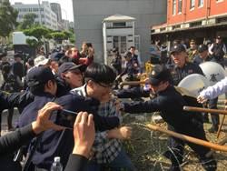 影》黎明幼兒園園長總統府自殘 聲援民眾與憲兵爆衝突