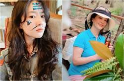 劉亦菲年前和家人出遊 曬凍齡母獨照「哪像60歲」