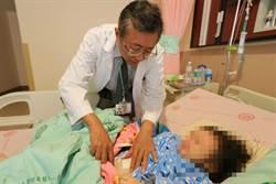3歲女童腹痛無力 卵巢畸胎瘤作怪