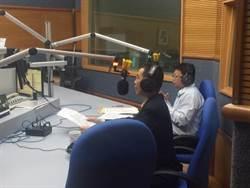 加強重要節日安維工作高市仁武警分局長至警察廣播電台宣導