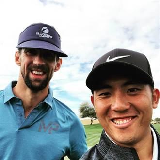 高爾夫》跟「飛魚」打配對賽 潘政琮好緊張