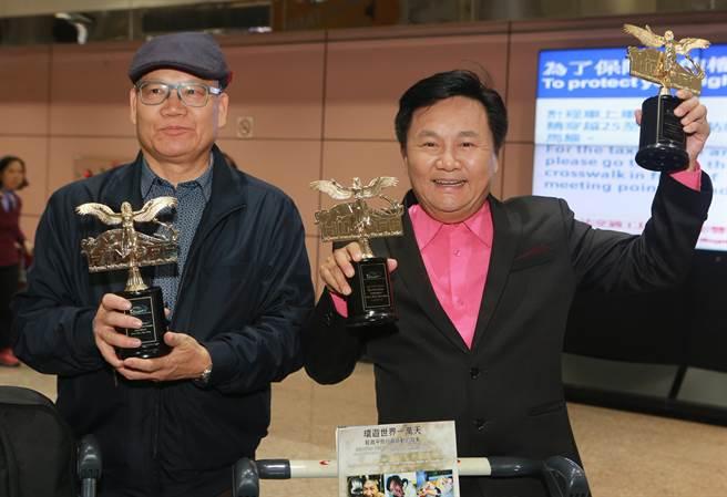 自由旅行作家眭澔平初試啼聲擔任導演兼製片的紀錄片「勇往直潛」,獲得好萊塢國際電影節(HIMPFF)的最佳紀錄片電影和最佳導演製片兩項大獎。(陳麒全攝)