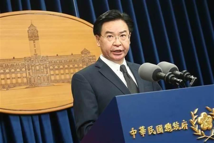 外交部長吳釗燮。(中時資料照,杜宜諳攝)